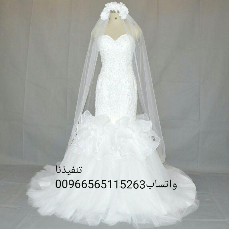 فساتين زفاف وسهرة انيقة وجميلة بأقل الأسعار