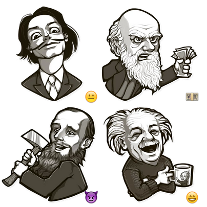 MEME Stickers by Sorochinskiy
