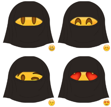 Telegram Sticker Pack: Saudi Emoji - Taligram